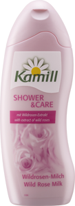 [product image] Shower & Care Wild Rose Milk
